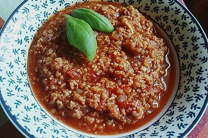 Vegetarische Bolognese 42