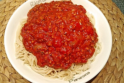 Vegetarische Bolognese 18