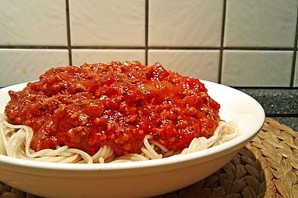 Vegetarische Bolognese 43