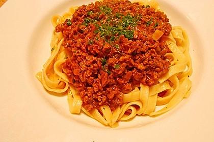 Vegetarische Bolognese 39