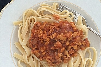 Vegetarische Bolognese 8