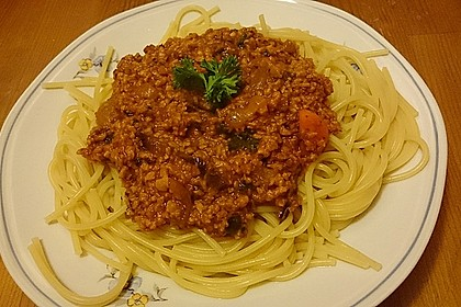 Vegetarische Bolognese 17