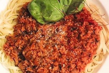 Vegetarische Bolognese 48