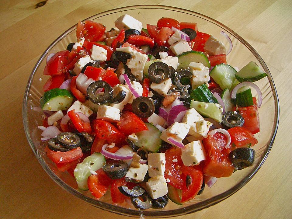 Griechischer salat rezept original