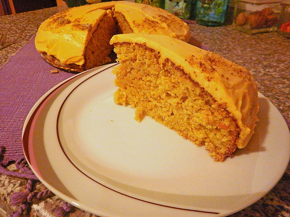 Karottenkuchen mit frischk seguss von annaia for Alpina ka chen und badfarbe