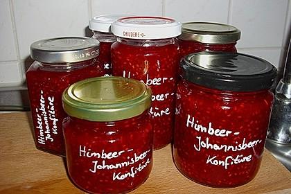 Himbeer - Johannisbeer - Konfitüre