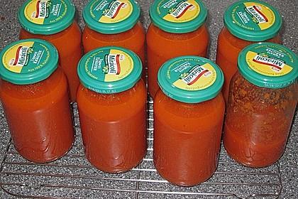 Tomatensoße auf Vorrat 12