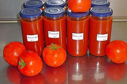 Tomatensoße auf Vorrat 0