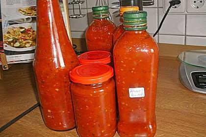 Tomatensoße auf Vorrat 16