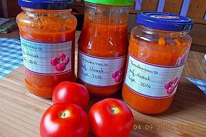 Tomatensoße auf Vorrat 8