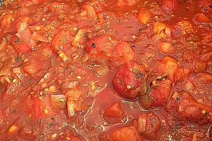 Tomatensoße auf Vorrat 10