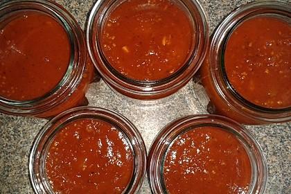 Tomatensoße auf Vorrat 23