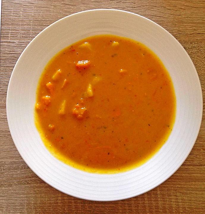 scharfe kürbissuppe (rezept mit bild) von billeba | chefkoch.de - Kürbissuppe Rezept Chefkoch
