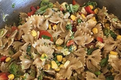 Vegetarischer Nudelsalat 1