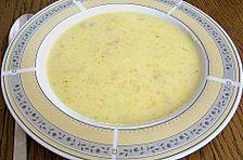 Feine Kartoffelsuppe mit Speck