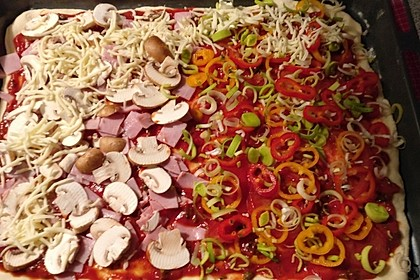 Italienischer Pizzateig 70