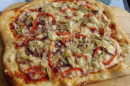 Italienischer Pizzateig 1