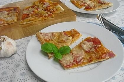 Italienischer Pizzateig 24