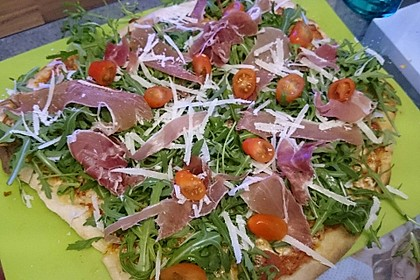 Italienischer Pizzateig 129