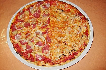 Italienischer Pizzateig 48