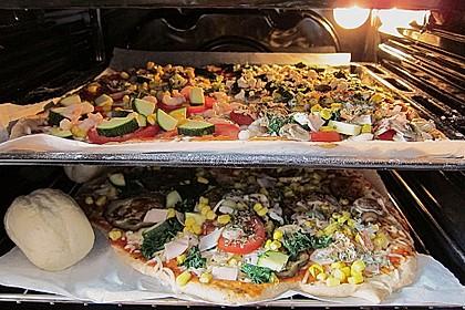 Italienischer Pizzateig 77