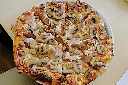 Italienischer Pizzateig 76