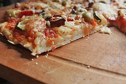 Italienischer Pizzateig 9