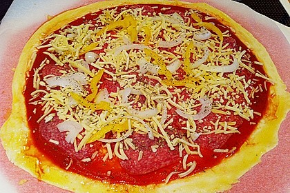 Italienischer Pizzateig 336