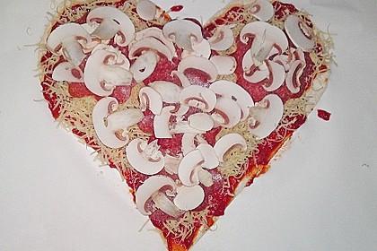 Italienischer Pizzateig 85