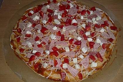 Italienischer Pizzateig 215