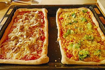 Italienischer Pizzateig 53