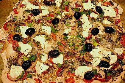 Italienischer Pizzateig 96