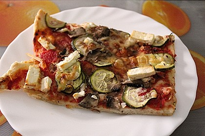 Italienischer Pizzateig 75