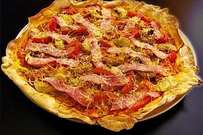 Italienischer Pizzateig 156