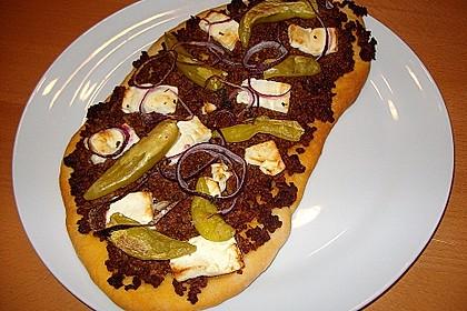 Italienischer Pizzateig 90