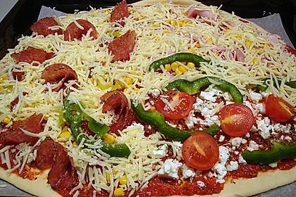 Italienischer Pizzateig 175