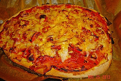 Italienischer Pizzateig 200