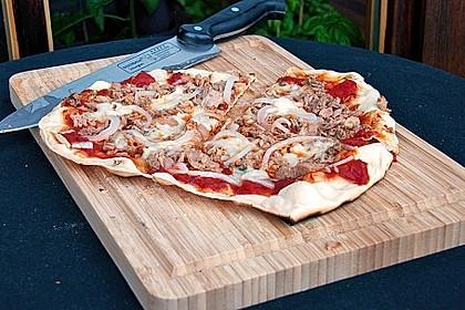 Italienischer Pizzateig 21