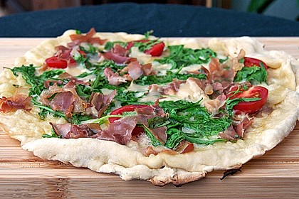 Italienischer Pizzateig 22