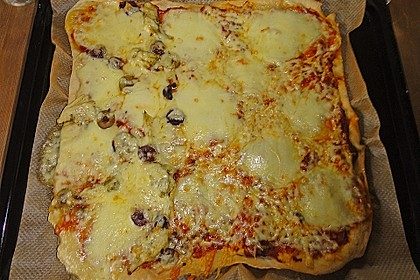 Italienischer Pizzateig 230