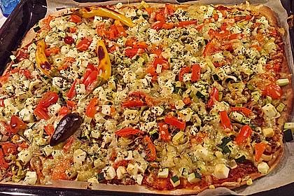 Italienischer Pizzateig 86