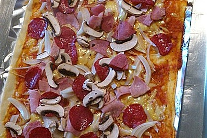 Italienischer Pizzateig 177