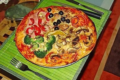 Italienischer Pizzateig 16