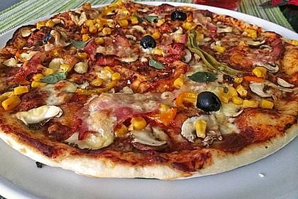 Italienischer Pizzateig 210