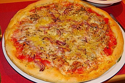 Italienischer Pizzateig 39