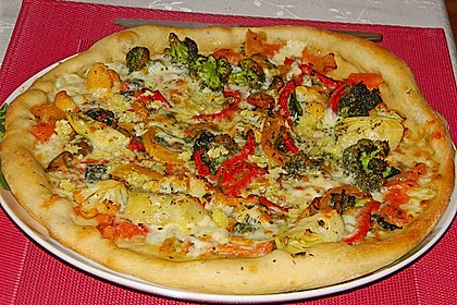 Italienischer Pizzateig 10