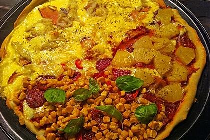 Italienischer Pizzateig 136