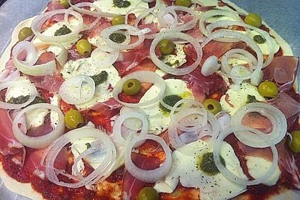 Italienischer Pizzateig 80