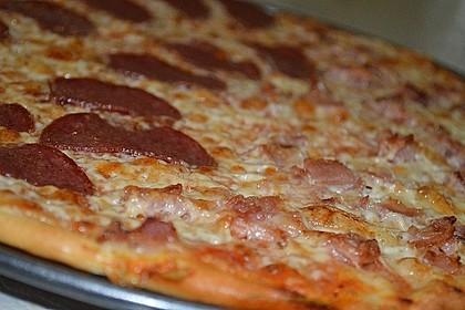 Italienischer Pizzateig 52