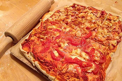 Italienischer Pizzateig 45